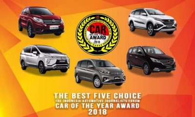 para finalis Forwot Car of The Year 2018