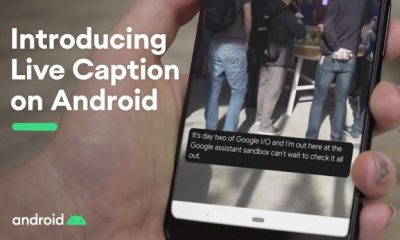 Live Caption Android.